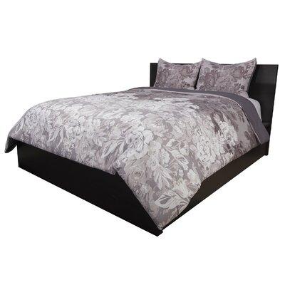 House of Hampton Audwine 3 Piece Reversible Comforter Set  Size: Full/Queen