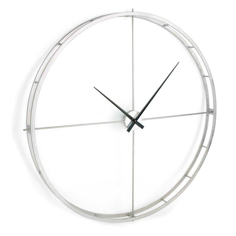 Latitude Run Oversized Mcroberts 50 Wall Clock