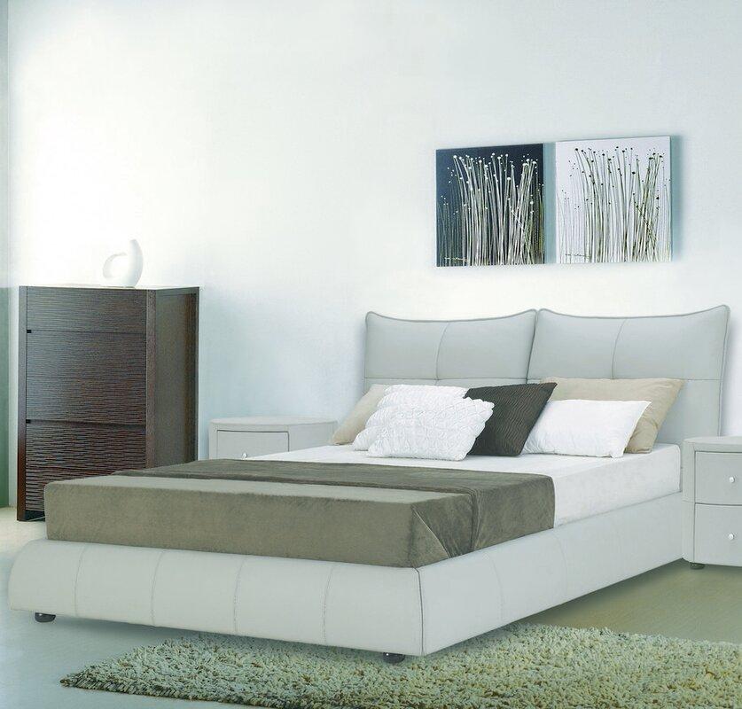 Superior Excite Upholstered Platform Bed