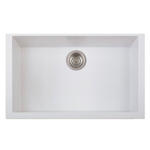 LaToscana One Series Single Basin Undermount Version Kitchen Sink