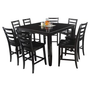 Ryley 9 Piece Counter Height Dining Set b..