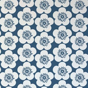 Aimee Wilder Designs Analog 15' x 28 Floral Wallpaper (Set of 2) Color: Ink