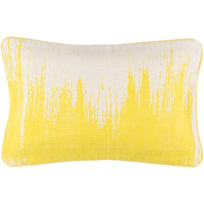 Brayden Studio Aeneas Throw Pillow Color: Lemon