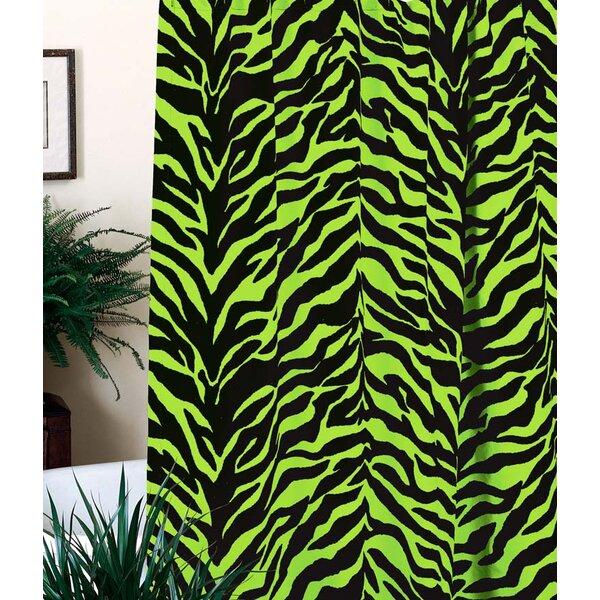 Karin Maki Zebra Shower Curtain