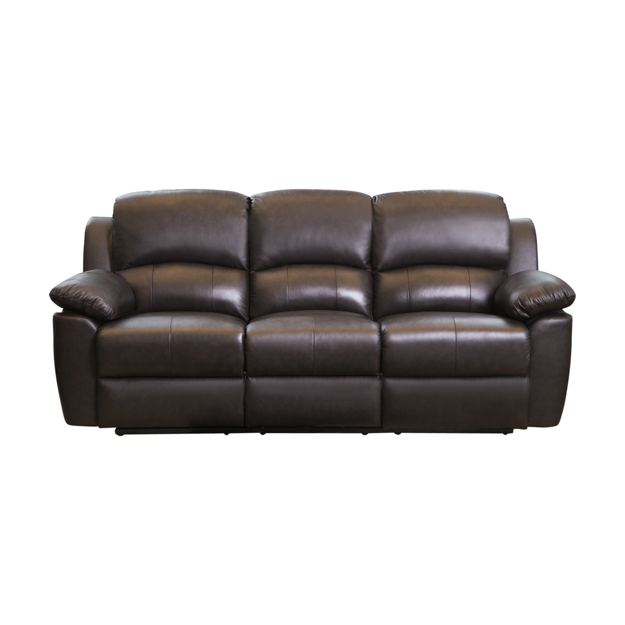 Darby Home Co Blackmoor Leather Reclining Sofa & Reviews | Wayfair