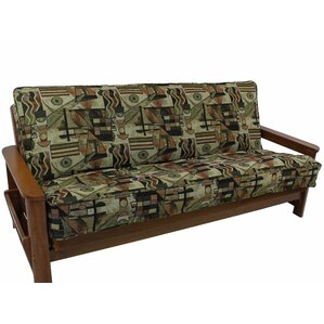Picasso Box Cushion Futon Slipcover by Blazing Needles