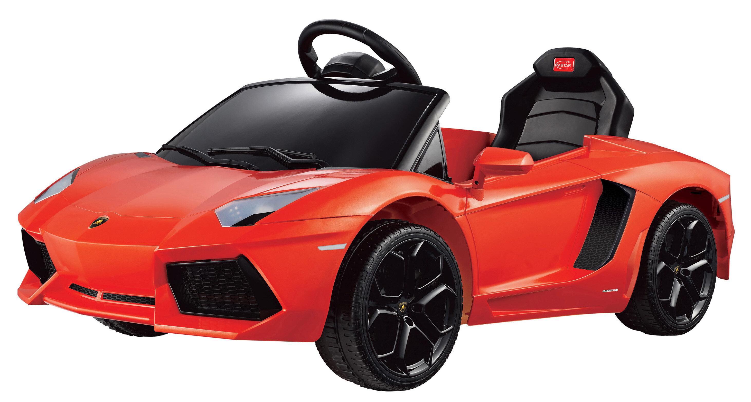 Vroom Rider Lamborghini Aventador Lp700 4 Rastar 6v Battery Powered Gallardo Fuse Box Car Wayfair