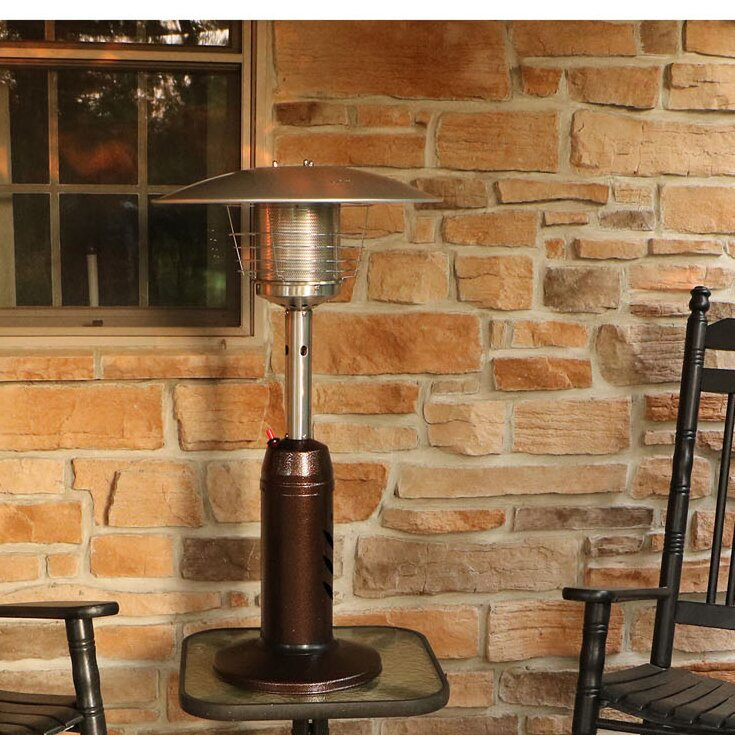 Mini Umbrella 11000 Propane Tabletop Patio Heater