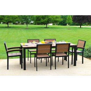 Katreesha Modern Outdoor Dining Set