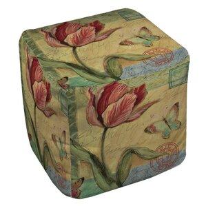 Loretta Tulip Ottoman by August Grove