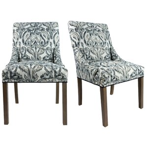 Maleah Upholstered Side Chair (Set of 2) by Bloomsbury Market
