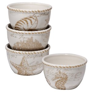 Kempton 4 Piece Ice Cream Bowls Set