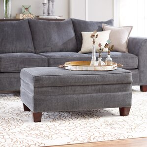 Simmons Upholstery Bethany Ottoman by Red Barrel Studio