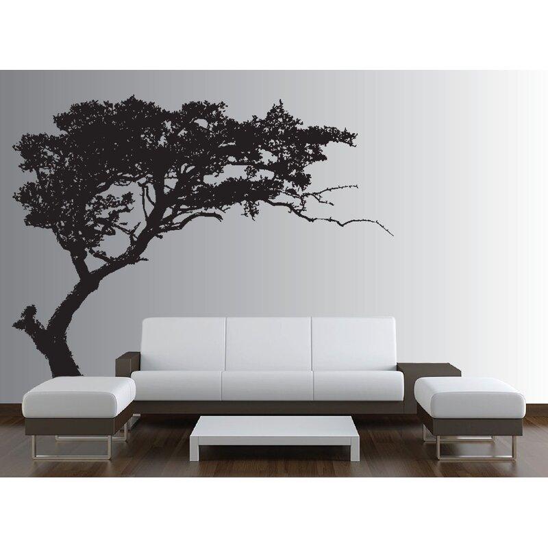 innovative stencils tree decal forest decor nursery wall decal