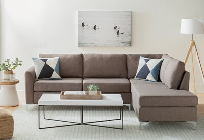 Minimalist Sectionals