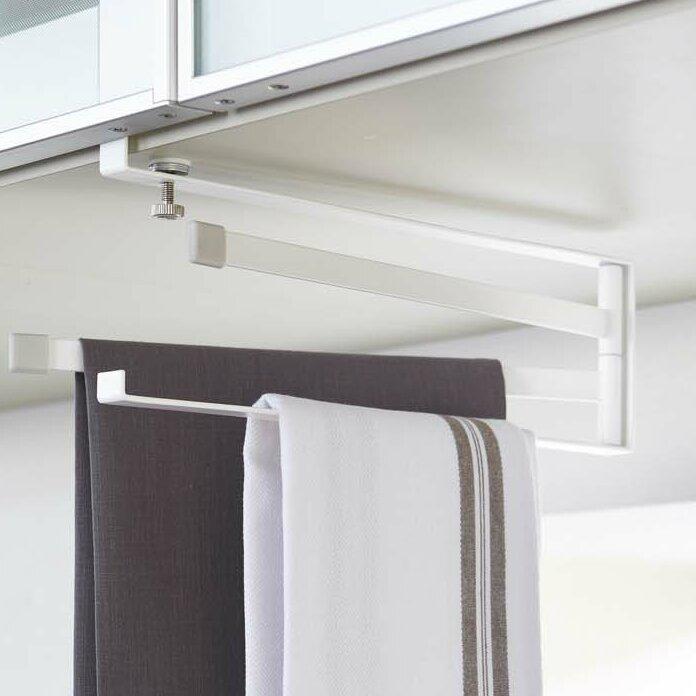 Plate Under Shelf Dish Towel Rack
