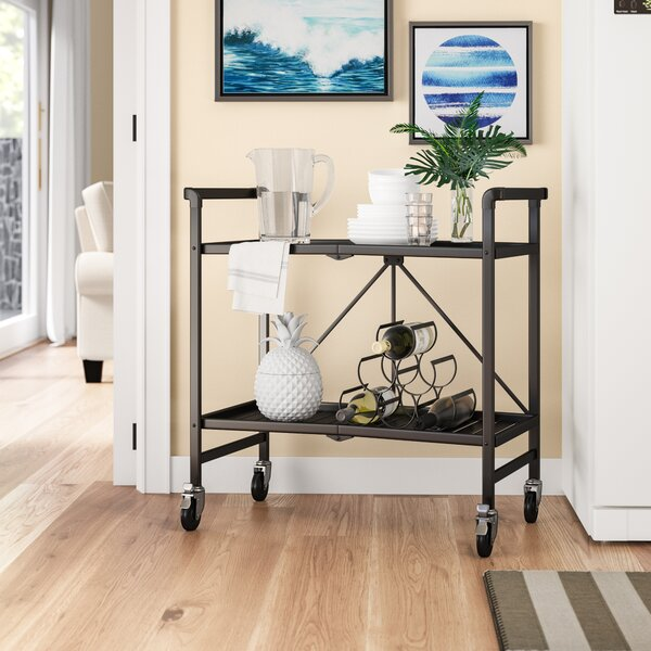 Bar Cart With Stools Wayfair