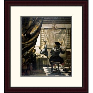 U0027The Artistu0027s Studiou0027 By Johannes Vermeer Framed Painting Print