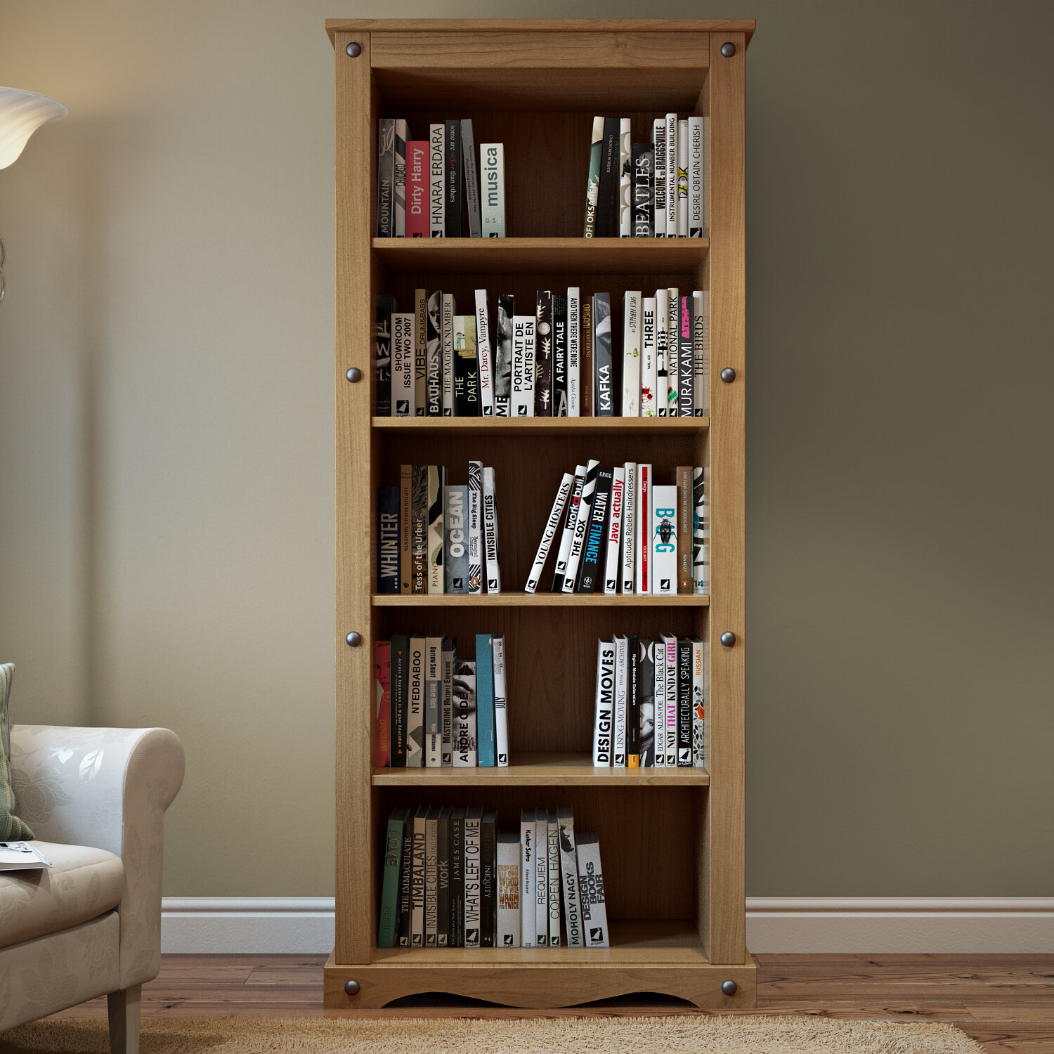 Home Haus Traditional Corona Bookcase Reviews