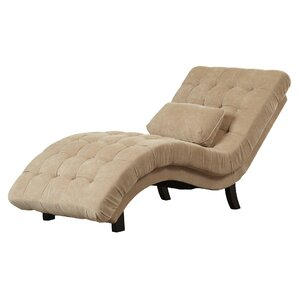 Ethelinda Fabric Chaise Lounge by Willa Arlo..