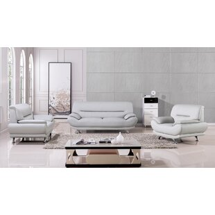 Save to Idea Board  sc 1 st  Wayfair & Leather Living Room Sets You\u0027ll Love | Wayfair