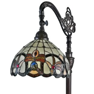Southwest style lamps wayfair tiffany style 62 arched floor lamp aloadofball Image collections
