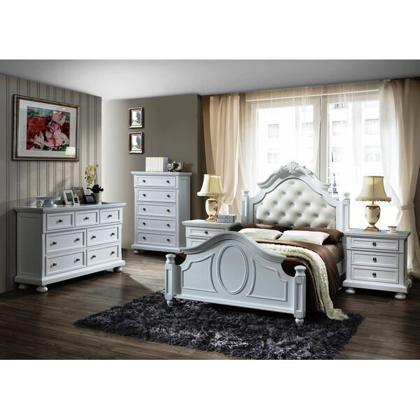 Worldwide Furniture Source Ltd Charles 5 Piece Bedroom Set Reviews Wayfair Co Uk