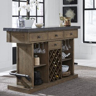 Stribling Bar with Wine Storage