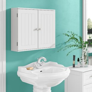 Bathroom Wall Cabinets Wooden Glass You Ll Love Wayfair Co Uk
