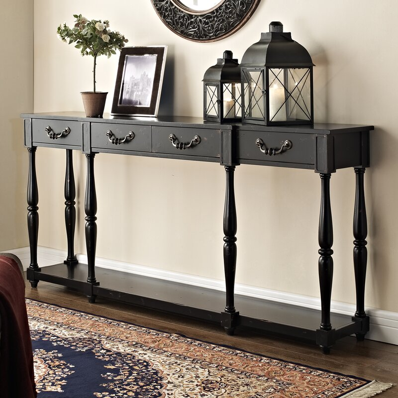 5 Console Table ~ Luann console table reviews birch lane