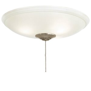 Universal 3-Light Bowl Ceiling Fan Light Kit