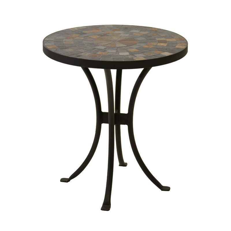 Attractive Brie Mosaic Side Table
