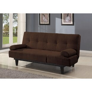 Dark Brown Microfiber Sofa | Wayfair