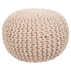 Alburtis Braided Pouf by Wade Logan
