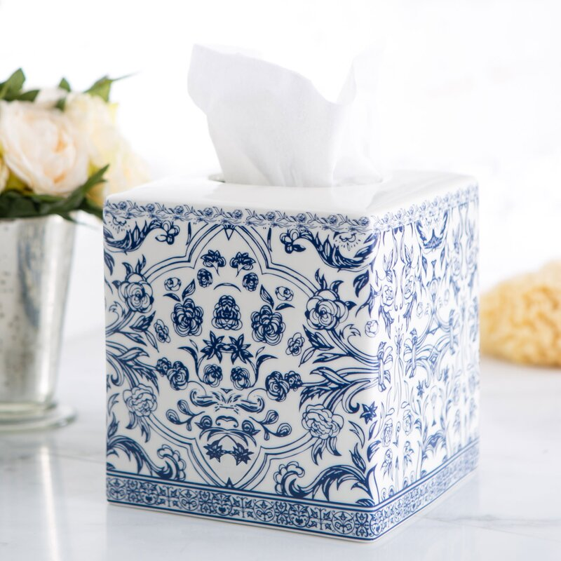 Porcelain Tissue Box Cover  sc 1 st  Birch Lane & Porcelain Tissue Box Cover u0026 Reviews | Birch Lane Aboutintivar.Com