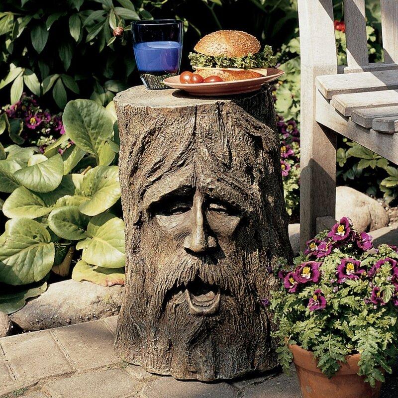 Silver Tree Stump Table Wayfair - Silver tree stump side table