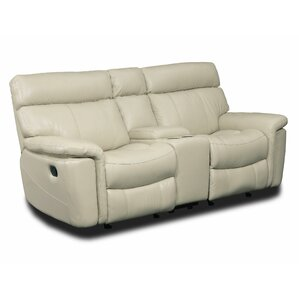 Motion Entertainment Leather Reclining Sofa by Hooker Furniture