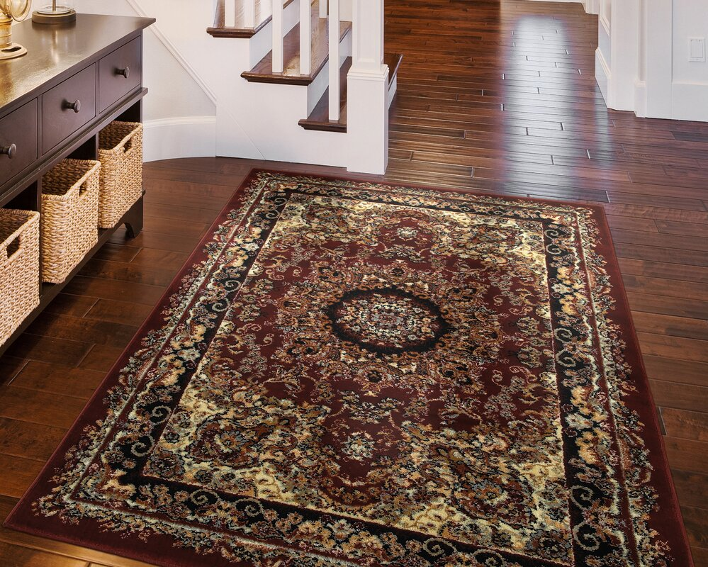 Exceptional Harrison Red/Black Area Rug