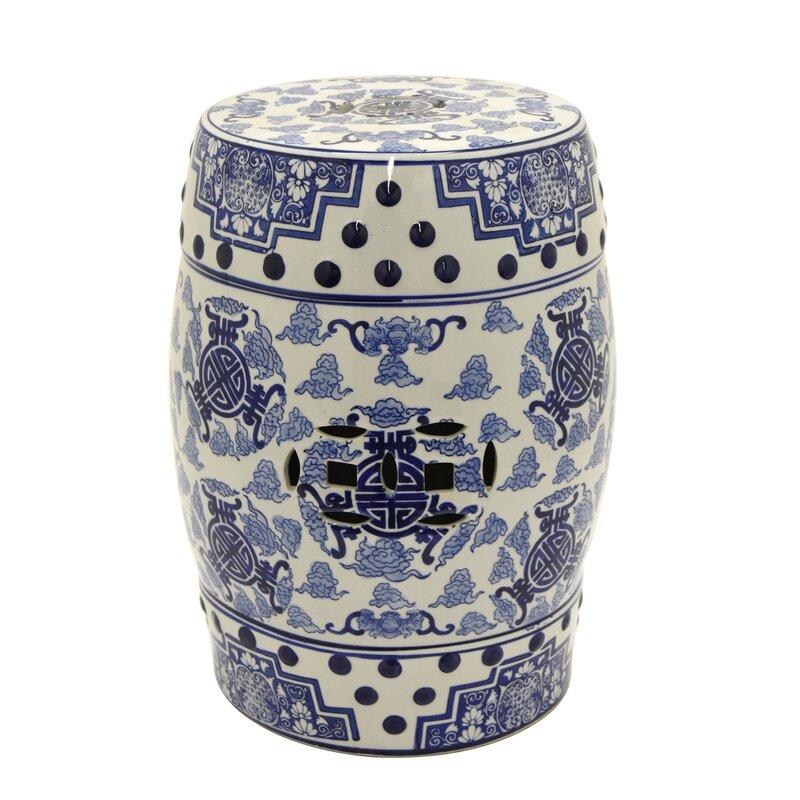 Superb Malgosia Ceramic Garden Stool Machost Co Dining Chair Design Ideas Machostcouk