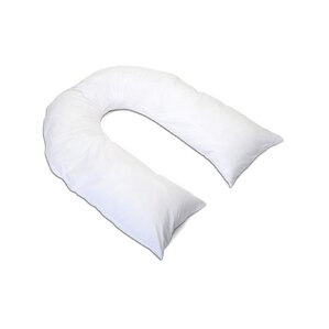 Total Body U-Shaped Polyfill Pillow by Alwyn Home