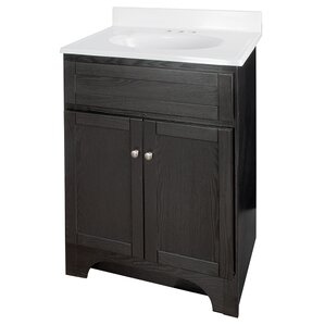 columbia 25 single bathroom vanity set