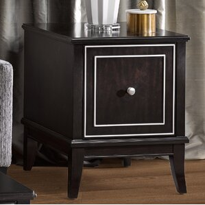 Everleigh End Table by Madison Park Signature