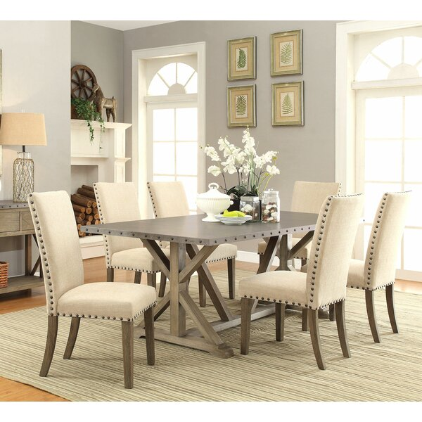 cheap dining room tables Athens 7 Piece Dining Set & Reviews | Joss & Main cheap dining room tables