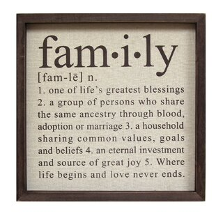 Delightful Definition Of Family Wall Décor