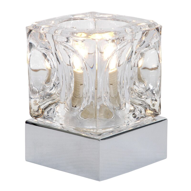 ice cube 10cm touch table lamp