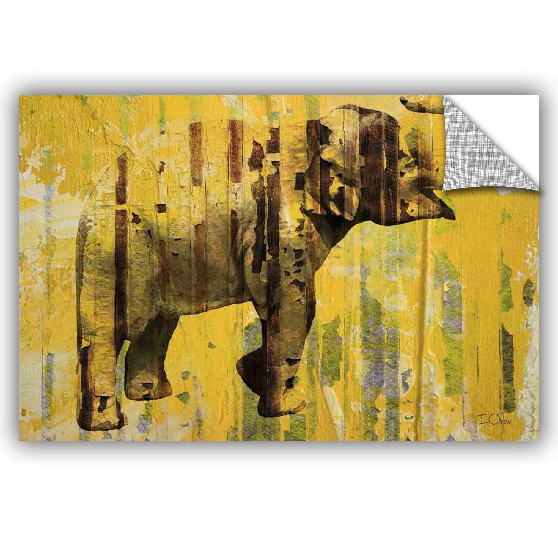 ArtWall Irena Orlov Elephant Wall Decal | Wayfair