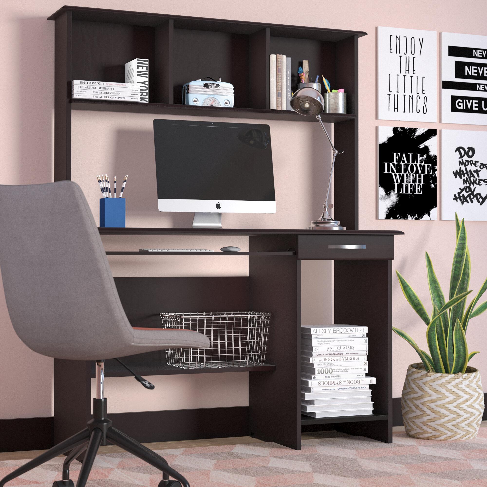 Zipcode Design Hollins Computer Desk With Hutch U0026 Reviews   Wayfair