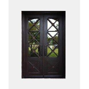Etonnant Achilles Premium Flat Top Iron Prehung Front Entry Door