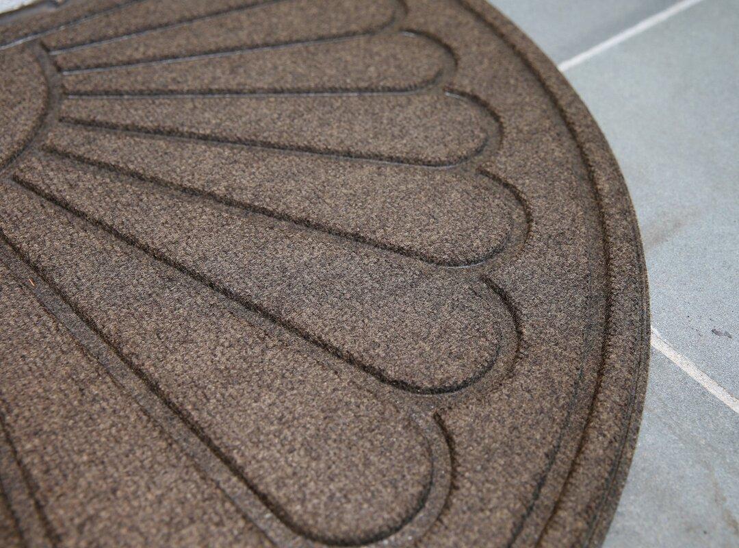 Mats Inc. Hailey Sunburst Rubber Back Doormat & Reviews   Wayfair
