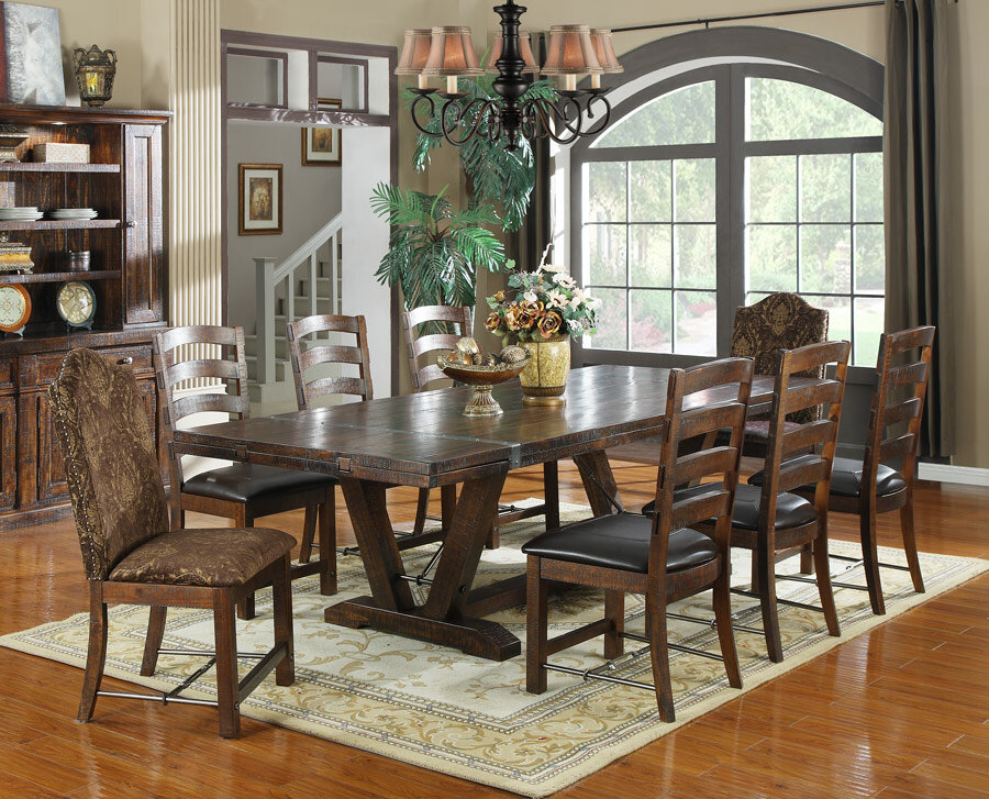 Loon Peak Waban Extendable Dining Table